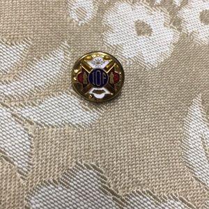 Vintage Collectable Souvenir IOF Lapel Pin